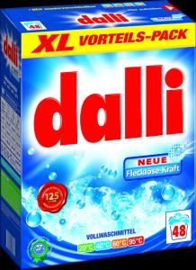 dalli universalūs skalbimo milteliai 48 skalbimų