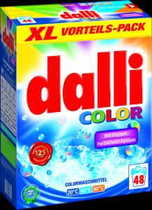 dalli color skalbimo milteliai 48 skalbimų