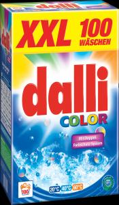 dalli color skalbimo milteliai 100 skalbimų