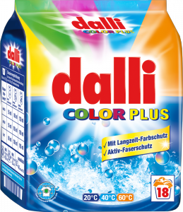 dalli Color Plus 18 Waschen