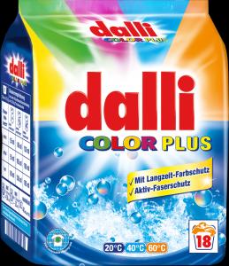 dalli color plus skalbimo milteliai 18 skalbimų