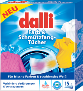 dalli Farb&Schmutzfang Tucher 15 Stuch