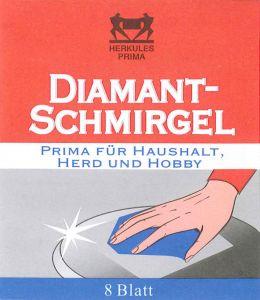 dalli Diamant Schmirgel 8Blatt