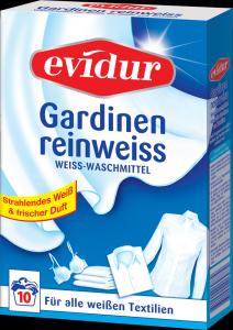 evidur Gardinen reinweiss 10 Waschen