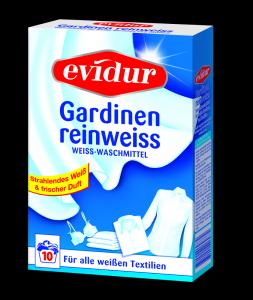 evidur Gardinen reinweiss 600g